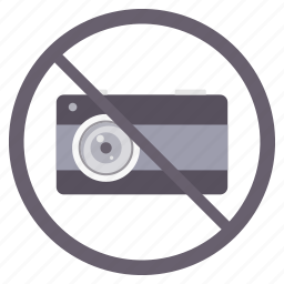camera, no camera, photography, prohibited icon