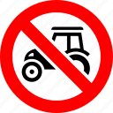 agrimotor, ban, farm, no, prohibition, sign, tractor
