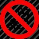 ban, no, prohibition, roller skates, rollerblades, sign, skates
