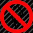 ban, food, ice cream, no, prohibition, sign