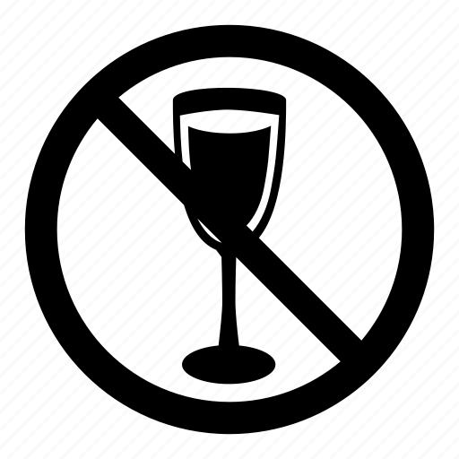 drinks, no, permitted, prohibition, signs, warning icon