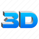 3d, 3dprinting, cad, hard copy, model, modeling, moview, real, realistic icon