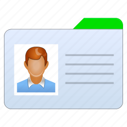 account, badge, business, card, client, customer, login, manager, office, people, person, profile, user, users icon
