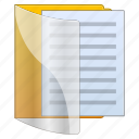 archive, catalog, directory, docs, document, documents, file, files, folder, library, list, page, paper, pdf, report, text icon