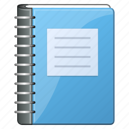 book, copybook, data, document, documents, fieldbook, note, office, paper, record, records, report, text icon