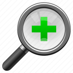 add, analysis, arrow, arrows, audit, binoculars, cross, enlarge, explore, explorer, find, focus, fullscreeen, glass, health, hospital, in, look, magnifier, magnify, magnifying glass, medical, new, plus, research, review, scan, search, seo, tool, view, watch, zoom icon