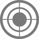aim, arrow, bullseye, center, game, goal, point, security, target, targeting icon