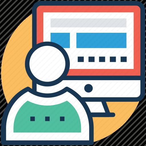 user interface, web application, web software, web ui, website app icon
