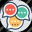 chat, communication, conversation, dialogue, negotiation icon