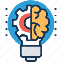 creation, creative mind, effective products, innovation product, invention icon