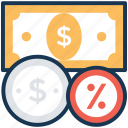 earnings, income, money, profit, revenue icon