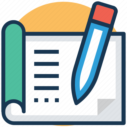 content, content formatting, content production, copywriting, editing system icon