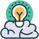 creative idea, creative mind, imaginations, innovative idea, inspiration icon
