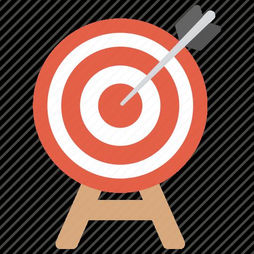 Archery Business Target Dartboard Game Goal Achievement Icon