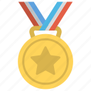 achievement, best performance, first rank, star medal, winner