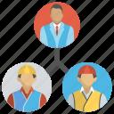 collaboration, management, project staff relation, teamwork, work group