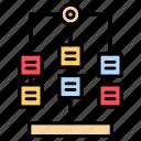 flowchart, hierarchy, workflow