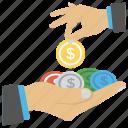 entrepreneurship, investment, money making, money saving, profit icon