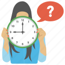 anxiety, confusion, question forum, question time, quiz time icon