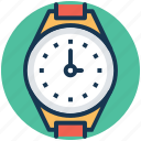 clockwise, timepiece, timer, watch, wrist watch icon