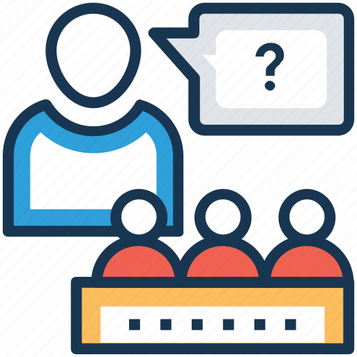 conference, consultation, convention, lecture, seminar icon