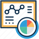 analytics, diagram, geographic information, graph, statistics icon
