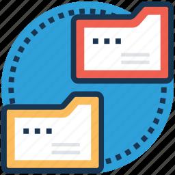 data exchange, data sharing, data transfer, file exchange, file sharing icon