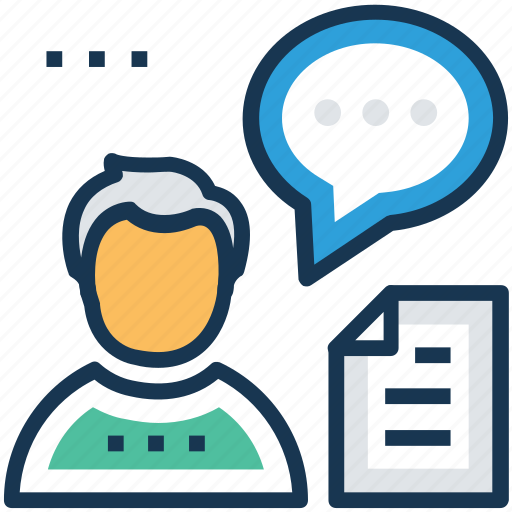 clients consulting, comment, communication, conversation, counselling icon