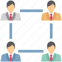 company team, hierarchy, hierarchy of team, team, team structure icon