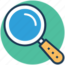 magnifier, magnifying glass, search, search tool, zoom icon
