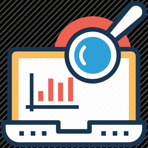 graph view, seo analysis, web analytics, web infographic, web ranking icon