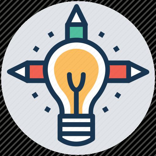creativity, idea generate, imagination, innovation, inspiration icon