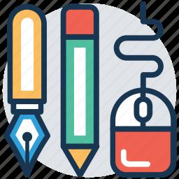 computer graphics, digital drawing, digital graphics, digital tools, draft icon