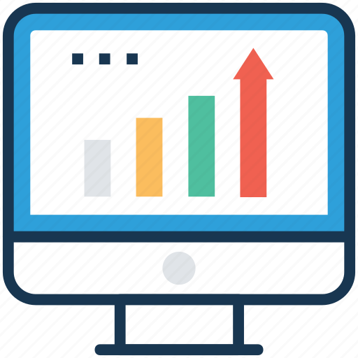 market terminology, market trends, sales directions, sales process, trading trends icon