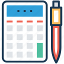 accounting, budget, financial calculation, financial planning, inventory icon