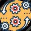 cms, content management, data management, optimization, preferences icon