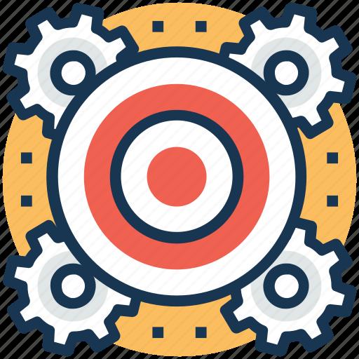 decision making, goal settings, motivational management, smart goals, targets settings icon