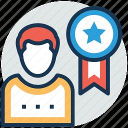 appreciation, loyalty award, reward, victory award, worker award icon