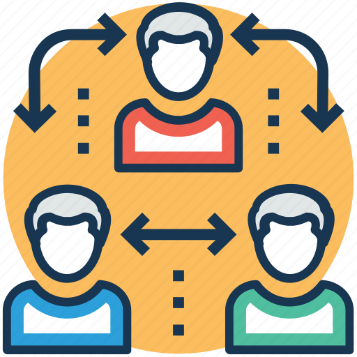 changing of employee, employee turnover, human resources turnover, people turnover, shift change icon
