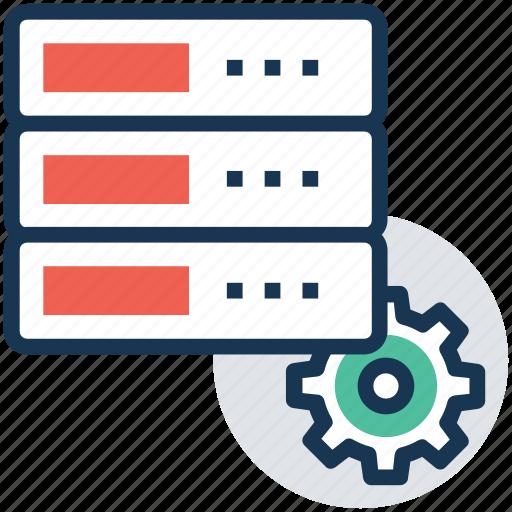 managed server, server administration, server hosting, server maintenance, server management icon