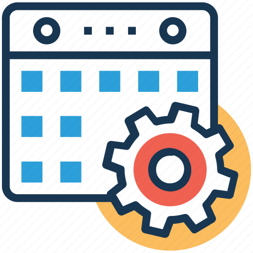 project development, project implementation, project monitoring, project prioritization, project process icon