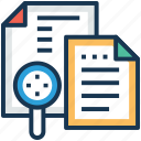 index records, index retrieval, information resources, information retrieval, text retrieval icon