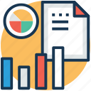 business analysis, business efficiency, business graph, revenue graph, revenue growth icon