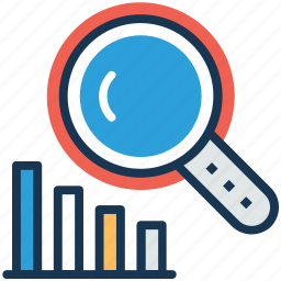 business development, business marketing monitoring, business statistics, market analysis, search optimization icon