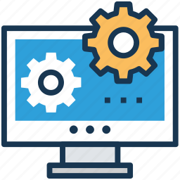 application support, configuration, settings, system administration, system config icon