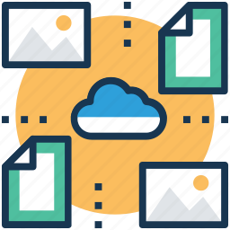 backup, data share, file convert, file exchange, file sharing icon