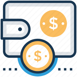 cash bag, cash flow, finance budget, financial planning, project budget icon