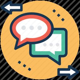 chatting, comment, communication, conversation, dialogue icon