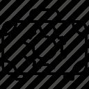 breifcase, gear, setting, suitcase icon