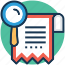 features list, product management, project management, project strategy, work plan icon